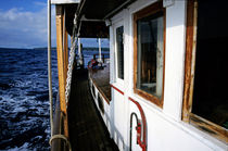 Gangway of a cruising sailboat by Sami Sarkis Photography