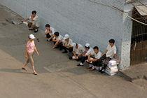 Rm-china-courtyard-men-walking-woman-working-chn0663