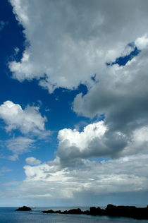 Clouds over Pointe du Grouin by Sami Sarkis Photography