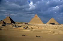 View of The Khephren Pyramid by Sami Sarkis Photography