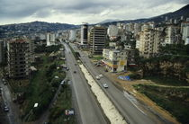 Cars travelling on a highway by Sami Sarkis Photography