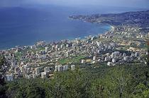 Looking over Jounieh Bay from Harissa von Sami Sarkis Photography