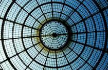 Glass dome of the shopping arcade Galleria Vittorio Emanuele II von Sami Sarkis Photography