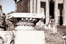 Forum Romanum by Norbert Fenske