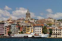 Karakoy and Galata Tower by Evren Kalinbacak