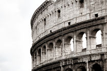 Colosseum in Rom by Norbert Fenske