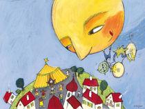 Der Mond fährt in den Zirkus von Evi Gasser