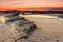 North Beach Sunset Ardrossan von Paul messenger