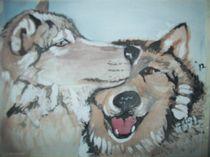 Wolf Love by cindy-cindyloo