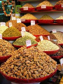 Dried Nuts and Spices For Sale by serenityphotography
