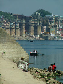 Peaceful Place Varanasi by serenityphotography