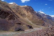 Spiti River in the Spiti Valley von serenityphotography