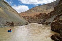Rafting on the Zanskar River by serenityphotography