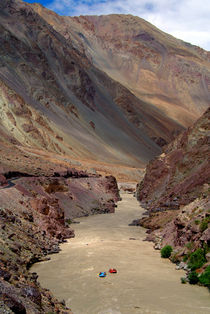 Rafting on the Zanskar River by serenityphotography