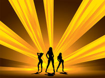 Dancing Girls von michael-travers