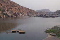 Coracles-on-the-tungabhadra-river