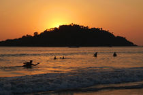 In-the-sea-at-sunset-palolem