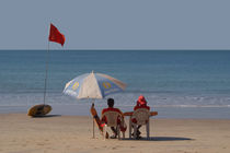 Life Guards on Palolem Beach by serenityphotography