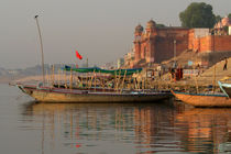 Reflections in the Ganges by serenityphotography