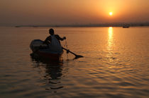 Sunrise on the Ganges by serenityphotography