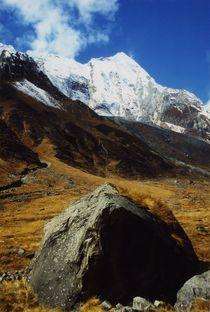 Nepal-annapurna-himal-stein-und-gipfel