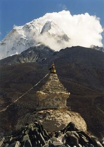 Nepal-khumbu-himal-ama-dablam-stupa-von-dingboche
