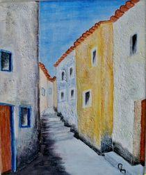 Kleine Gasse in Andalusien by Heinrich Reisige
