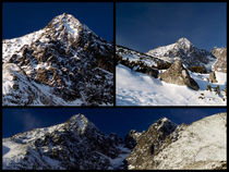 Winter Mountain Collage by Tomas Gregor
