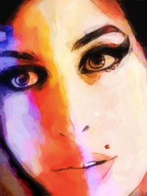 Amy Winehouse by Lutz Baar