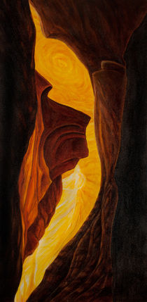 antelope canyon II by Hans-Georg Fischenich