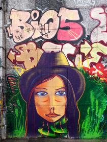 Grafitti portrait, Kiev von Graham Prentice