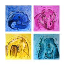 Die Elefantinios by Annett Tropschug