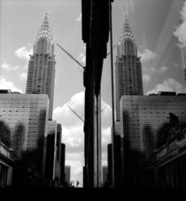 Manhattan #03 Chrysler Building von Wolfgang Cezanne