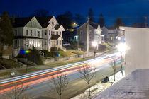 Main Street in Frostburg