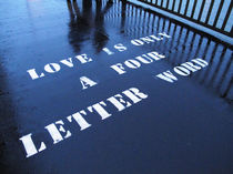 Love is just a four letter word by mellimage