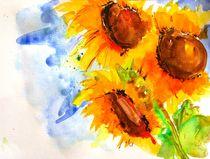 Sonnenblumen von Jacqueline Schreiber