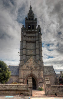 Roscoff (Brittany) - Church of Notre Dame de Croas-Batz by Pier Giorgio  Mariani
