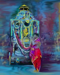 Ther - Temple Car by Usha Shantharam