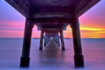 Deal Pier at Sunrise von Alice Gosling