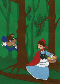 Little Red Riding Hood by faramour