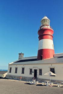 Cape Agulhas Leuchtturm by Benjamin Matthijs