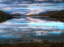 Morning Reflections On Loch Leven by Amanda Finan