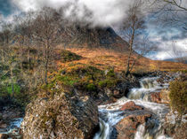 The Buachaille Etive Mor Scotland by Amanda Finan