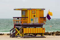 Bay Watch - South Beach (Miami) by Pier Giorgio  Mariani