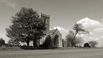 The Parish Church of St Andrew | B&W by Sarah Couzens