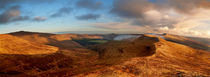 Black Mountains Panorama von Nigel Forster