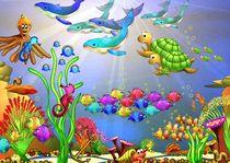 bunte Korallenriffvielfalt von Hildegard Maria Endner