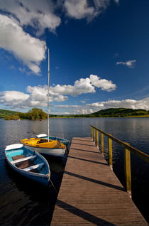 Llangorse Lake Mooring von Nigel Forster