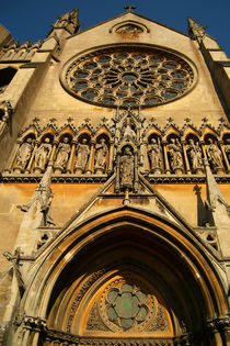Arundel Cathedral Entrance by serenityphotography