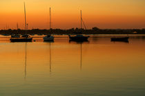 Sleeping Sail Boats von serenityphotography